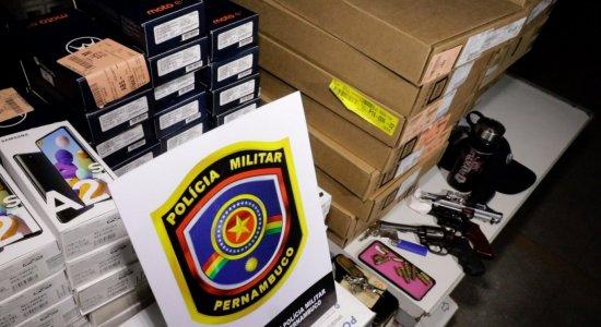 Primeiro Impacto: homens presos em assalto a magazine no Grande Recife