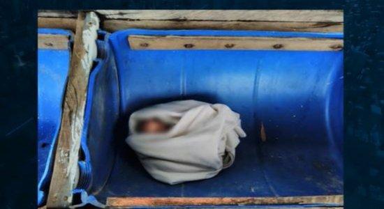 Bebê recém-nascida é abandonada em fazenda; criança estava em cocho de ração para animais