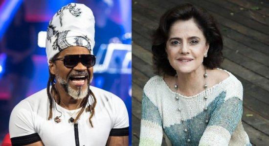 Marieta Severo fala sobre relação com o genro Carlinhos Brown e netos