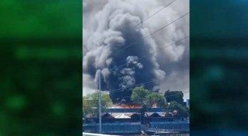O Corpo de Bombeiros foi acionado e consegui controlar as chamas no Mercado de Artesanato de Itapissuma