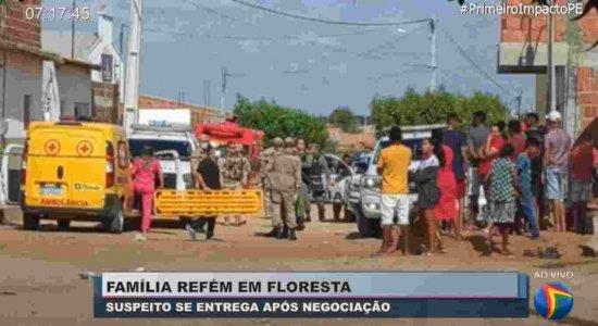 Família é feita refém por homem durante 12h no Sertão de Pernambuco