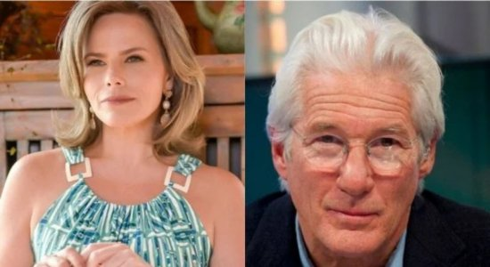 Maria Cândida e Richard Gere flertaram? Jornalista diz que sim: ''me procurou no hotel''