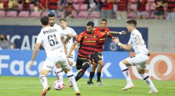 Sport fica no empate com o Santos e desperdiça nova chance de deixar a zona do rebaixamento
