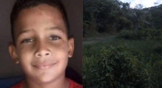O menino Mateus da Silva, de sete anos, desapareceu no dia 19 de outubro de 2021