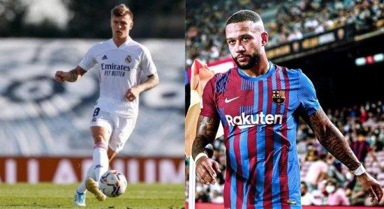 Barcelona e Real Madrid se enfrentam no fim de semana pela LaLiga; saiba informações do ElClasico