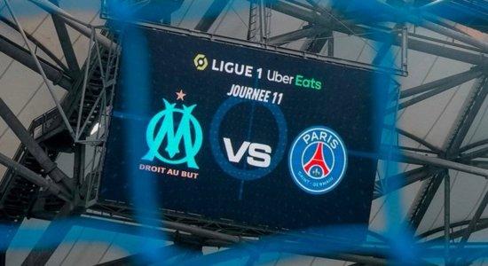 Olympique de Marselha x PSG se enfrentam no Stade Vélodrome, na França