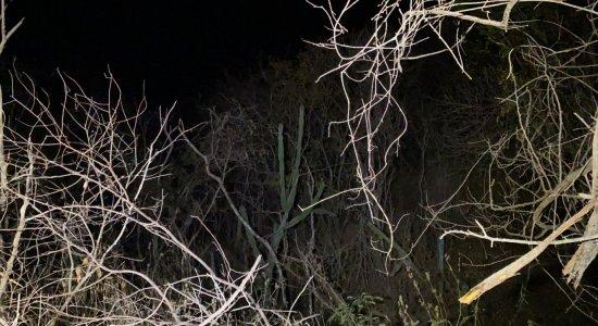 Local onde foi encontrado corpo de motorista de aplicativo que estava desaparecido é de difícil acesso; veja fotos