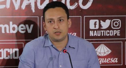 Executivo de futebol do Náutico confirmou que clube monitora o jogador