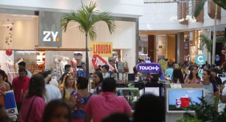 Semana de liquidação do Shopping Riomar. Palavras-chaves: Promoção - Shopping - LIquidação - Compras - Vendas - ##
