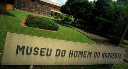 Fachada do Museu do Homem do Nordeste, da Fundação Joaquim Nabuco