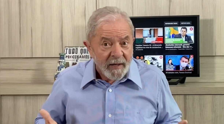 Lula critica os posicionamentos do governo Bolsonaro na luta ...