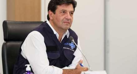 Ministro da Saúde, Luiz Henrique Mandetta. Coronavírus