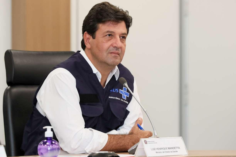 Ministro da Saúde, Luiz Henrique Mandetta lamenta morte de amigo