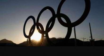 Os anéis olímpicos, simbolo das Olimpíadas