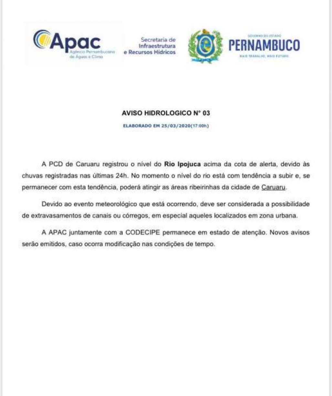DIVULGAÇÃO / GOVERNO DE PERNAMBUCO