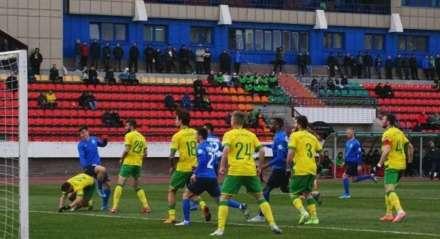 Partida do Vitebsk, time de futebol da Bielorrússia