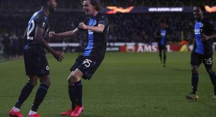 O Club Brugge liderava o campeonato e deve ser proclamado campeão belga