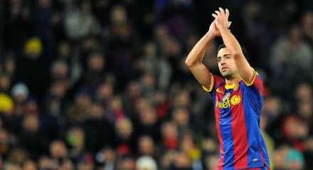 Xavi foi um dos principais jogadores do Barcelona.