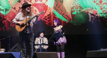 Moraes Moreira em show no Recife
