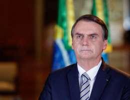 """O jornal destacou que Bolsonaro chamou o vírus de """"gripezinha"""""""