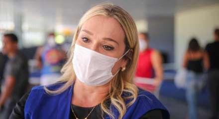 Coronavírus - Covid-19 - Pandemia - Supermercado - Compras - Fila - Fiscalização - Doença - Alimentação - Restrição - Quarentena