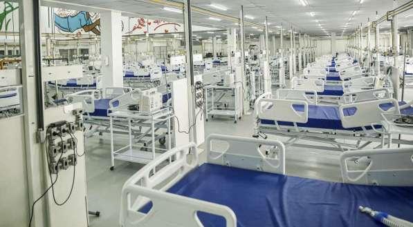 Ao todo, o Hospital Provisório Recife 1 contará com 160 leitos para pacientes com covid-19, sendo 100 deles de UTI