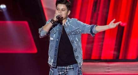 Tuca Almeida participou do The Voice Kids em 2018