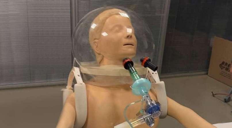 Pesquisadores da USP desenvolvem 'capacete-respirador' para ...