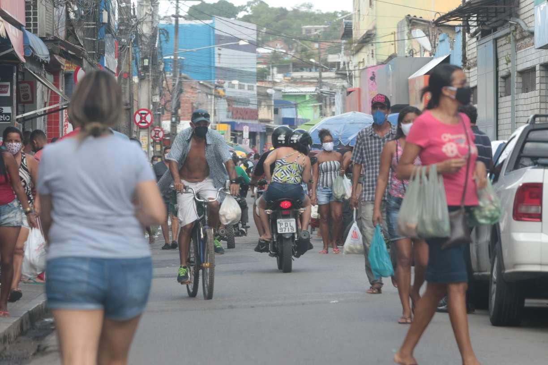 Letalidade do coronavírus é maior em bairros mais pobres do Recife