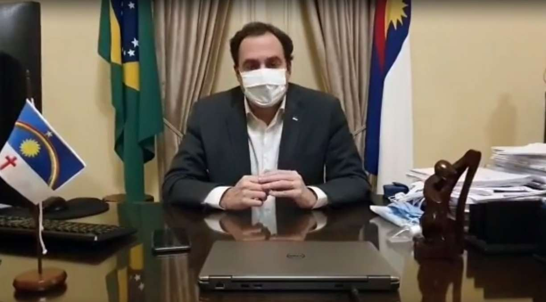 Paulo Câmara, governador de Pernambuco, testa positivo para coronavírus