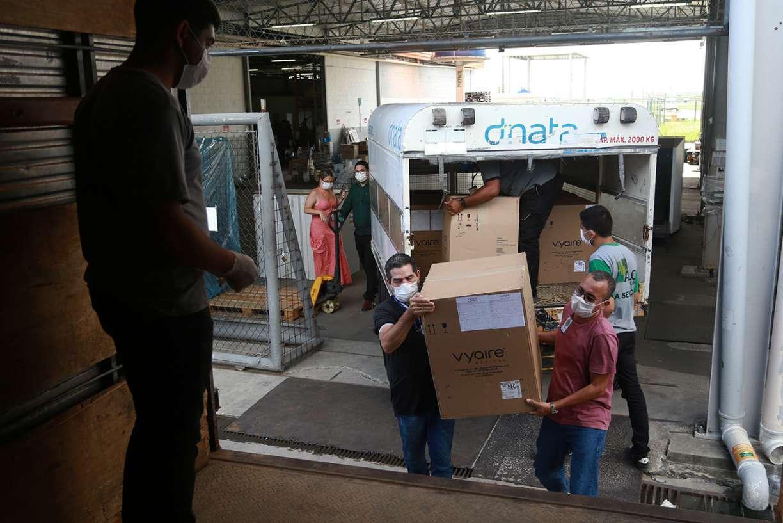 Aena registra recorde na movimentação de cargas no Aeroporto do Recife