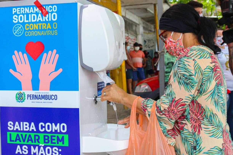 Bairro de Ouro Preto, em Olinda, recebe operação contra novo coronavírus