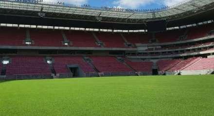 Arena de Pernambuco segue recebendo manutenções