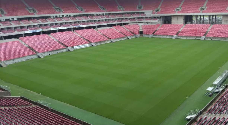 Arena de Pernambuco segue realizando adaptações para receber jogos do Estadual