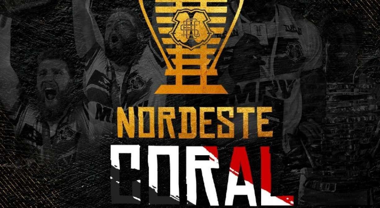 Santa Cruz lança produtos da Copa do Nordeste para reprise do título na TV Jornal