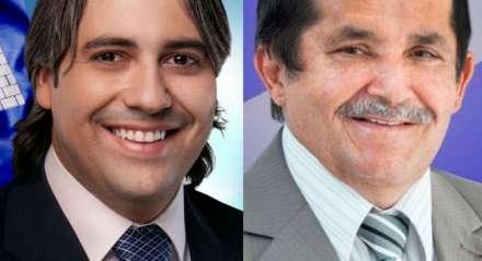 Thiago Nunes (esquerda) e Zito da Barra