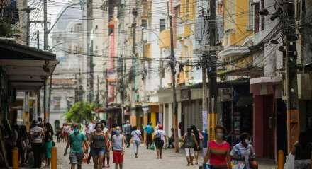 Trabalho - Lojas - Compra - Venda - Cidade - Centro - Reabertura