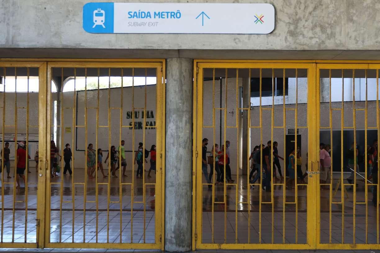 Esquema de transporte público para nova retomada das atividades econômicas na segunda tem pequena ampliação