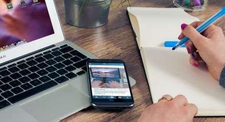 celular, estudo, trabalho