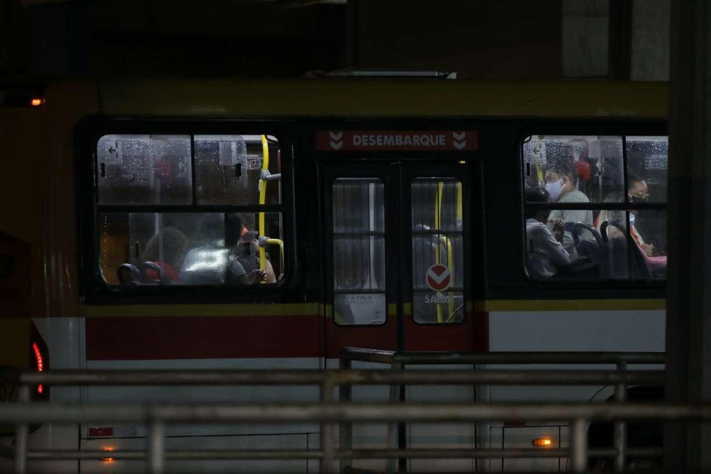 O transporte público está na UTI
