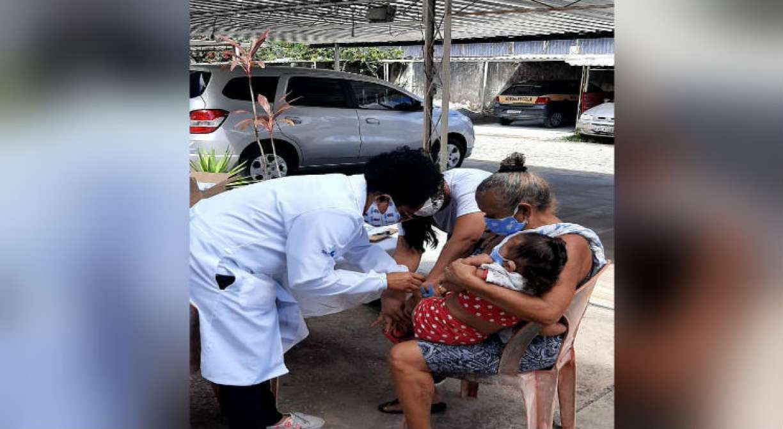 Moradores de condomínios em Olinda podem ser vacinados contra a gripe em casa