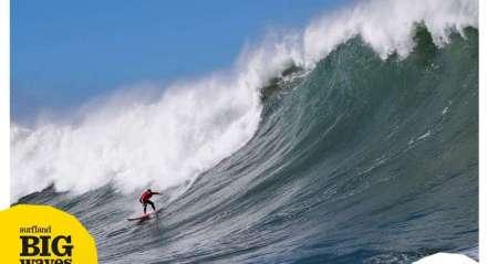 1º Surfland Big Waves Brasil / Mormaii , o desafio que vai premiar a maior ondas surfada no território catarinense entre 18/06/20 a 18/06/21