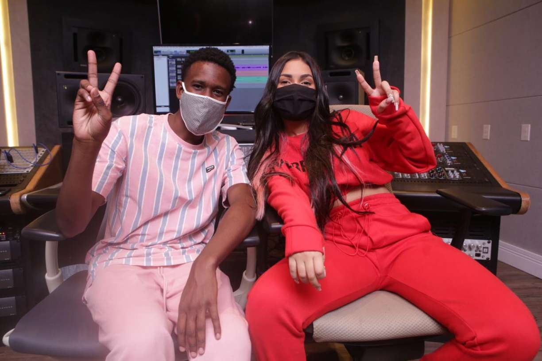 Flay, ex-BBB 20, grava parceria musical com DJ Zullu