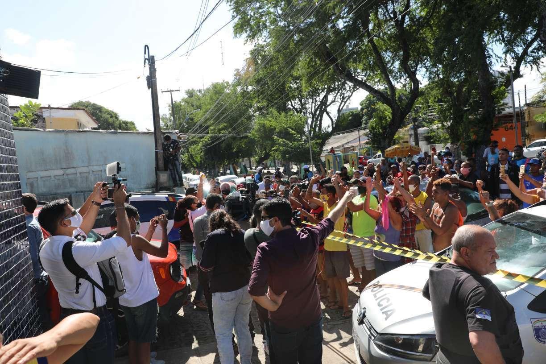 Caso Miguel: SDS analisa imagens para saber se houve excesso de policial