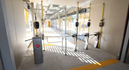 Estação do BRT Soledade, na Avenida Conde da Boa Vista