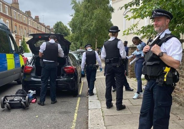 Casal de atletas negros é abordado com violência pela polícia em Londres: