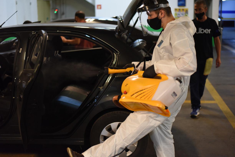 Centro de Higienização da Uber para motoristas e entregadores chegará ao Recife
