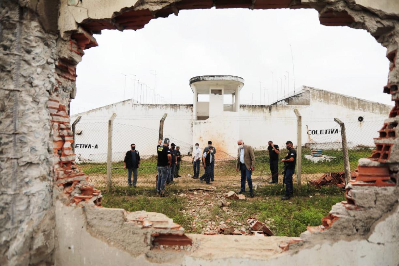 Membros do PCC participaram da fuga em massa da Penitenciária de Limoeiro