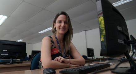 Ensino a Distância já estruturado facilitou transição para quem tinha aula presencial, explica a gerente acadêmica de EAD da Uninassau, Dayanna Ximenes