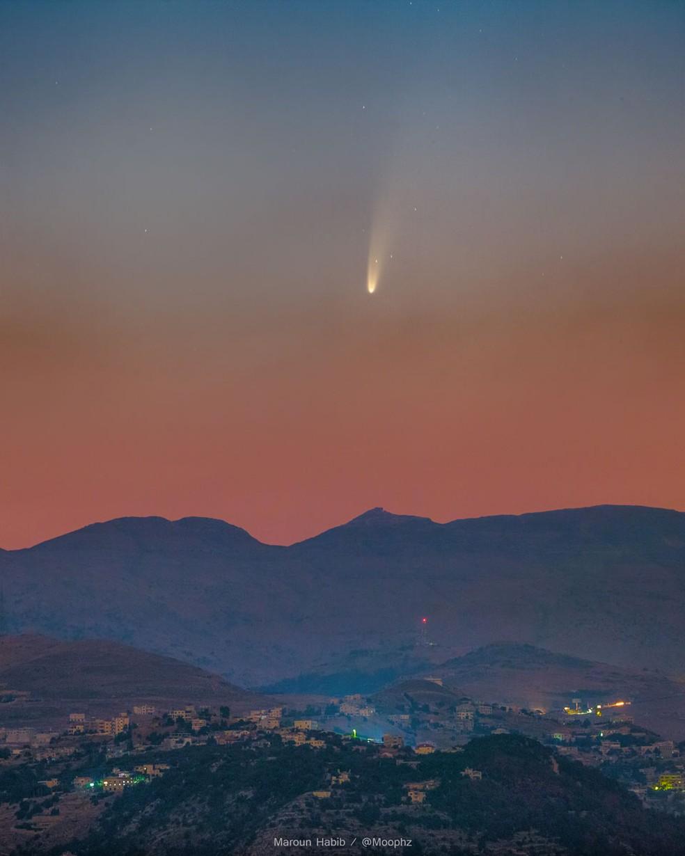 Próximo do Brasil, cometa Neowise dificilmente será visto em Pernambuco; entenda